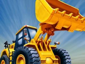 Bulldozer Crash Race